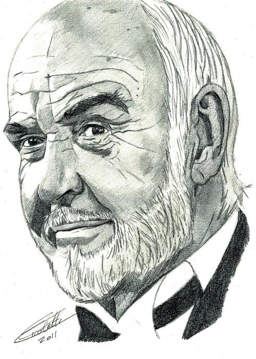 Sean Connery by Fanfaron